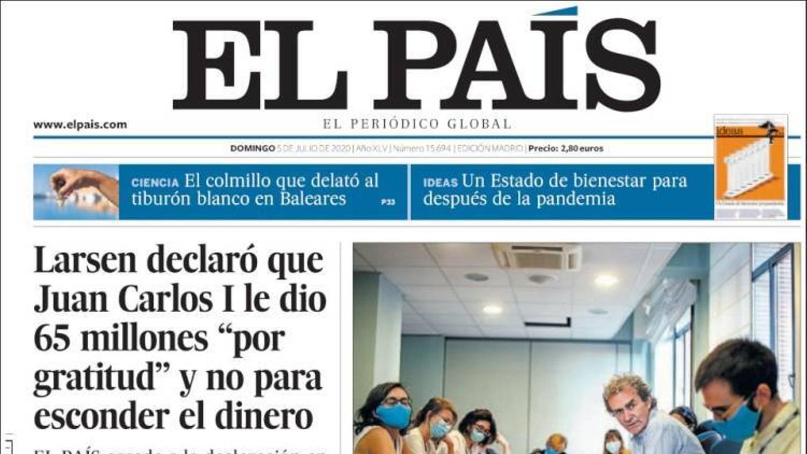 """""""Podem s'enfonsa a Galícia i al País Basc i arrossega el PSOE"""", portada de l''Abc'"""