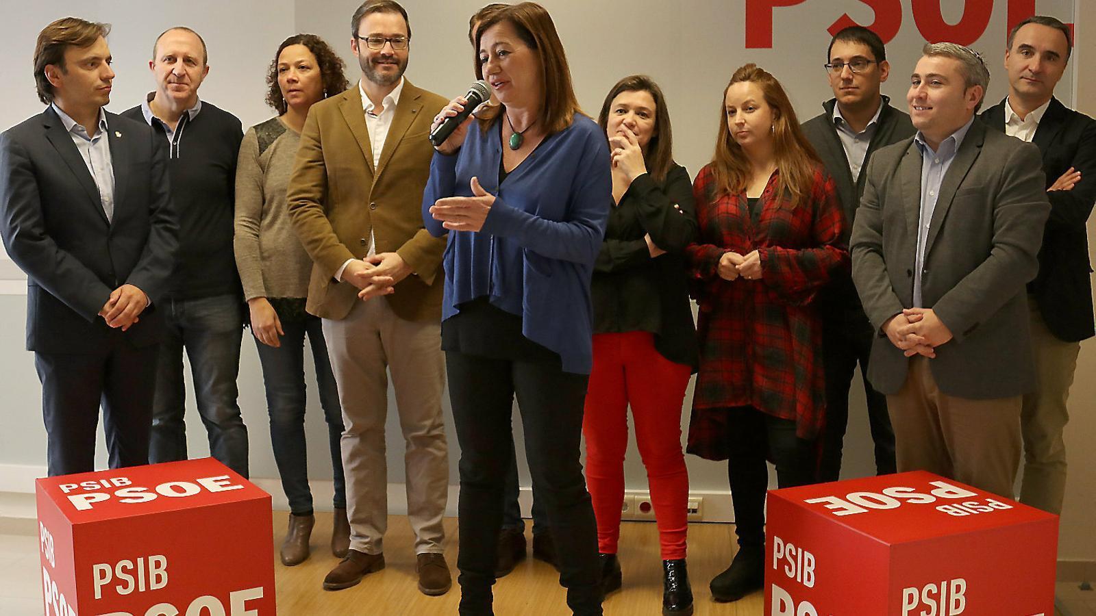 Imatge d'un acte electoral del PSIB.