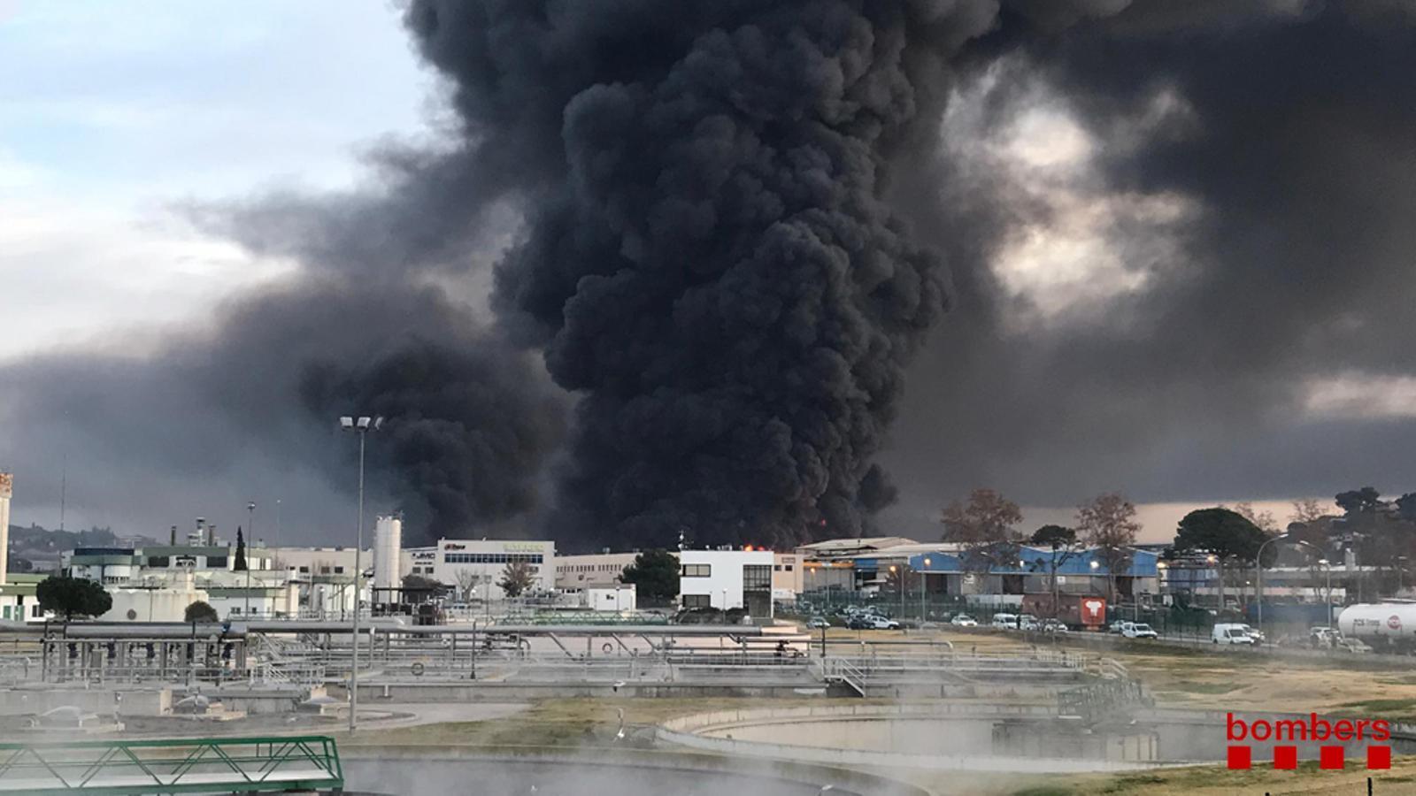 Incendi de Montornès del Vallès