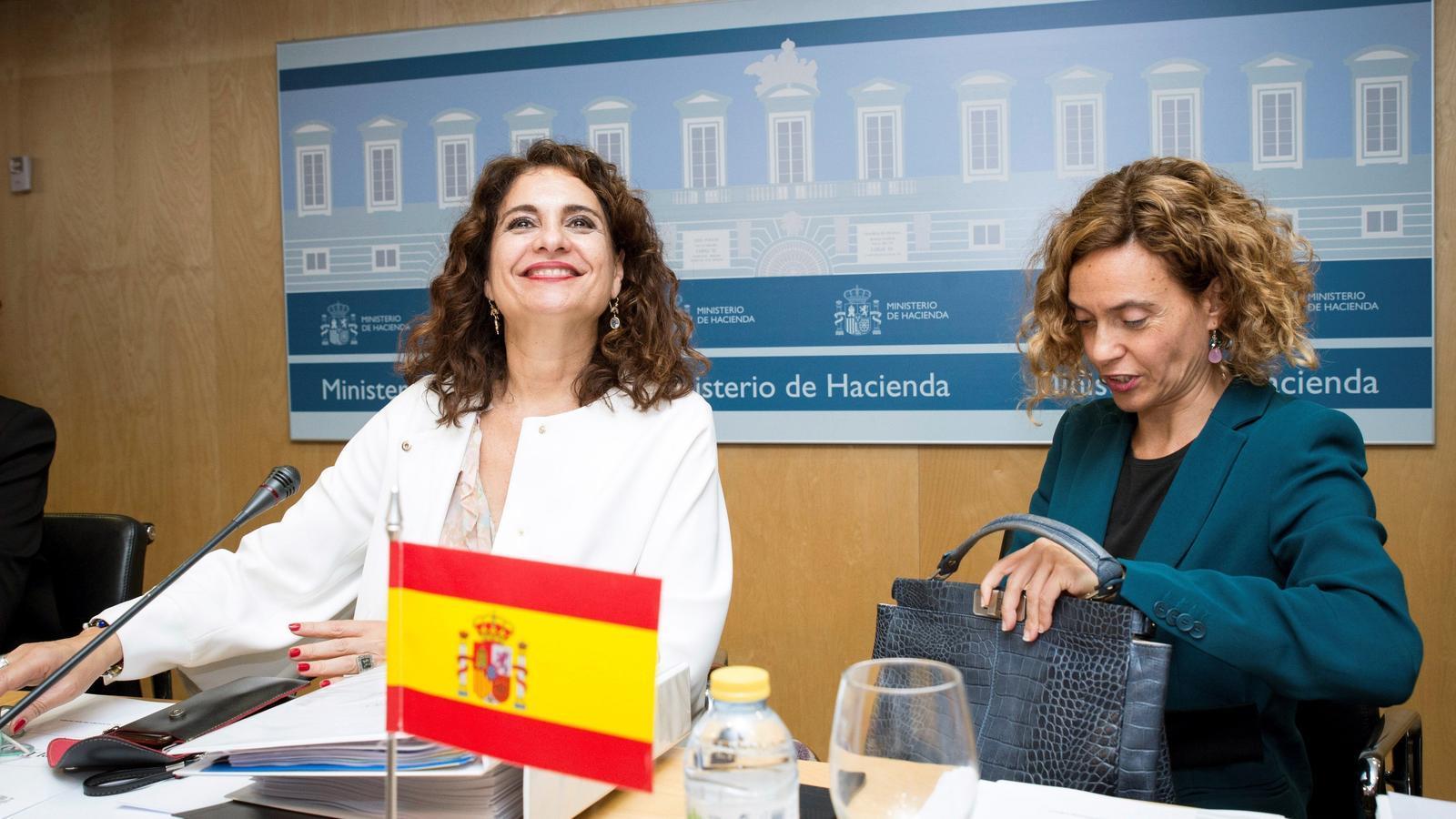 Montero i Batet, al Consell de Política Fiscal i Financera, ahir