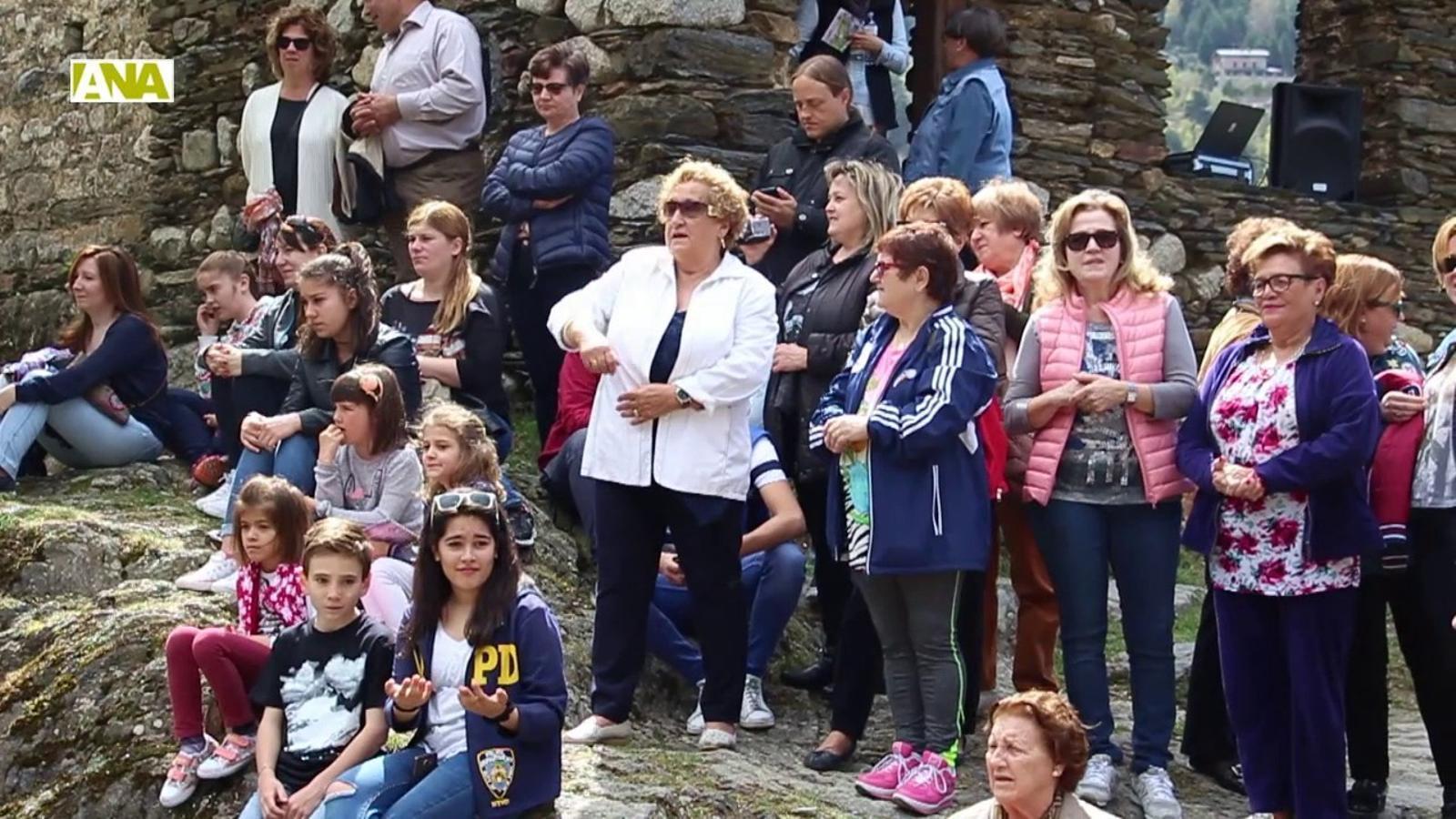 Missa i caramelles, al tradicional Aplec de Sant Romà de les Bons