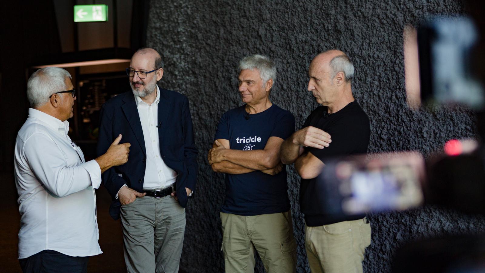 Entrevista d'Antoni Bassas a El Tricicle