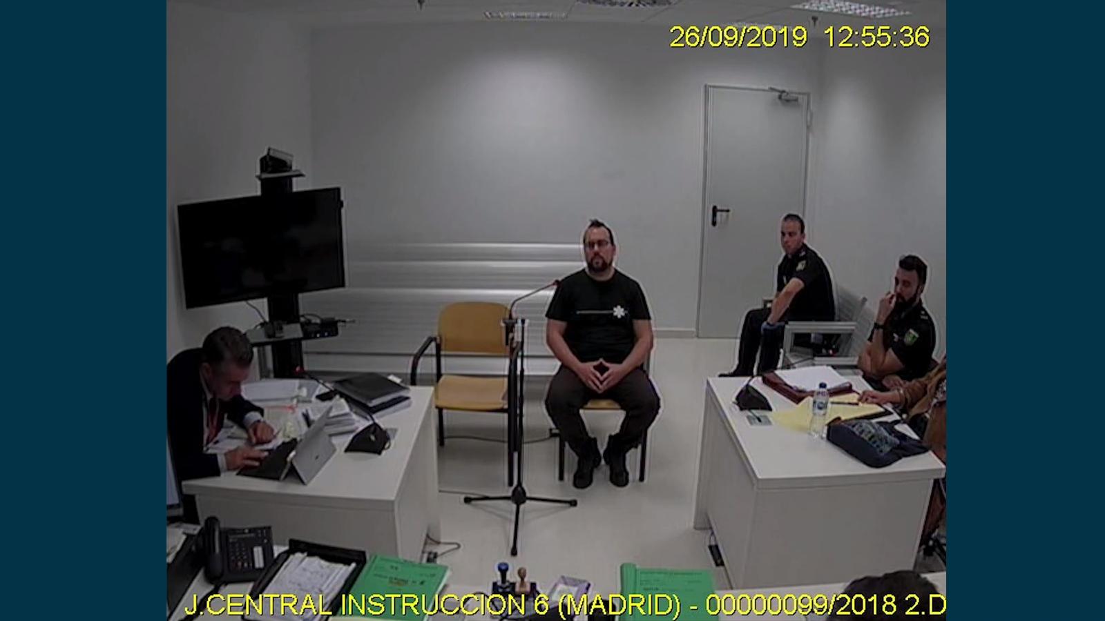 Un dels membres de CDR empresonat, Ferran Jolis, parla del pla d'ocupar el Parlament