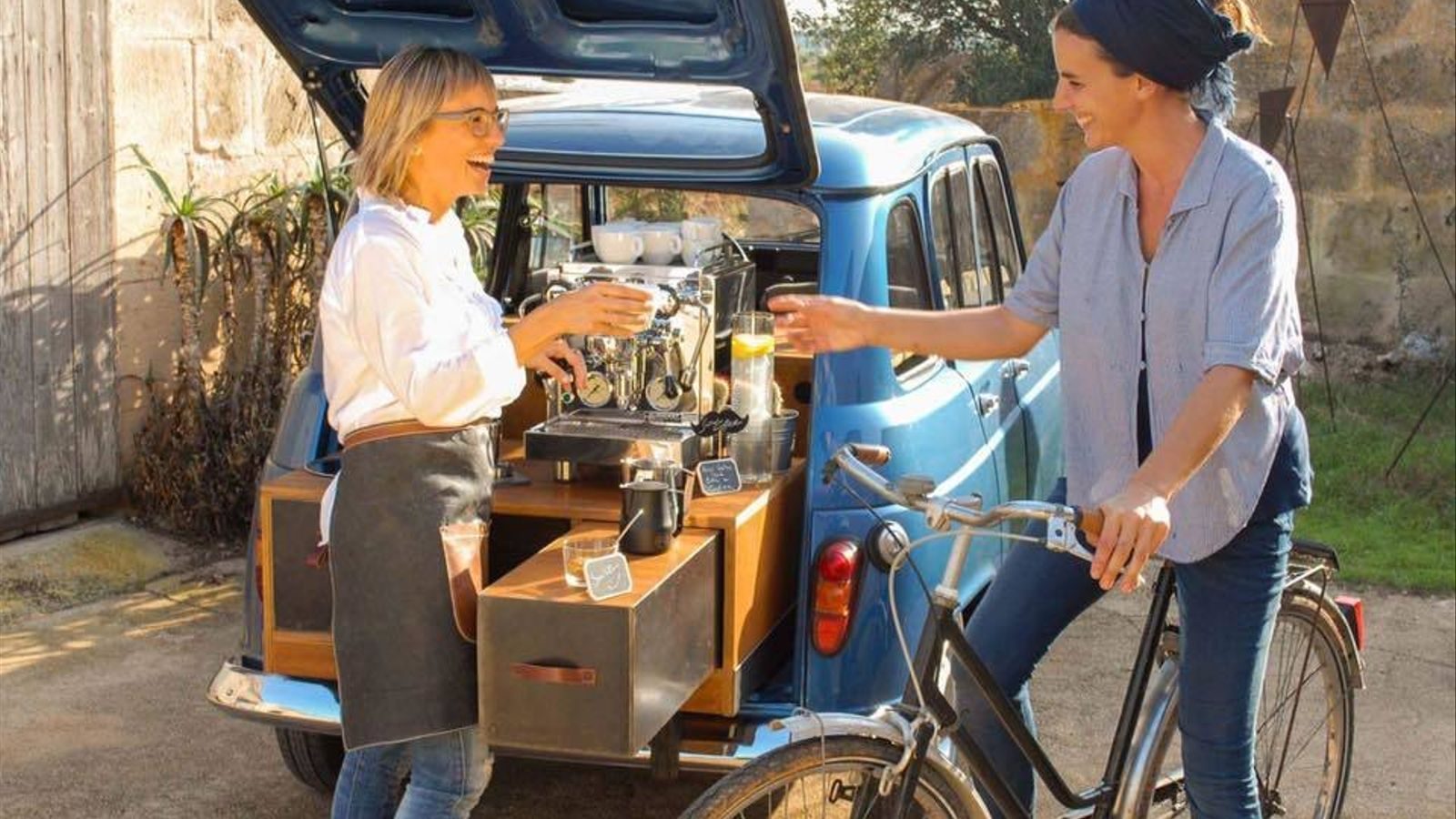 Un nou concepte de cafeteria ambulant