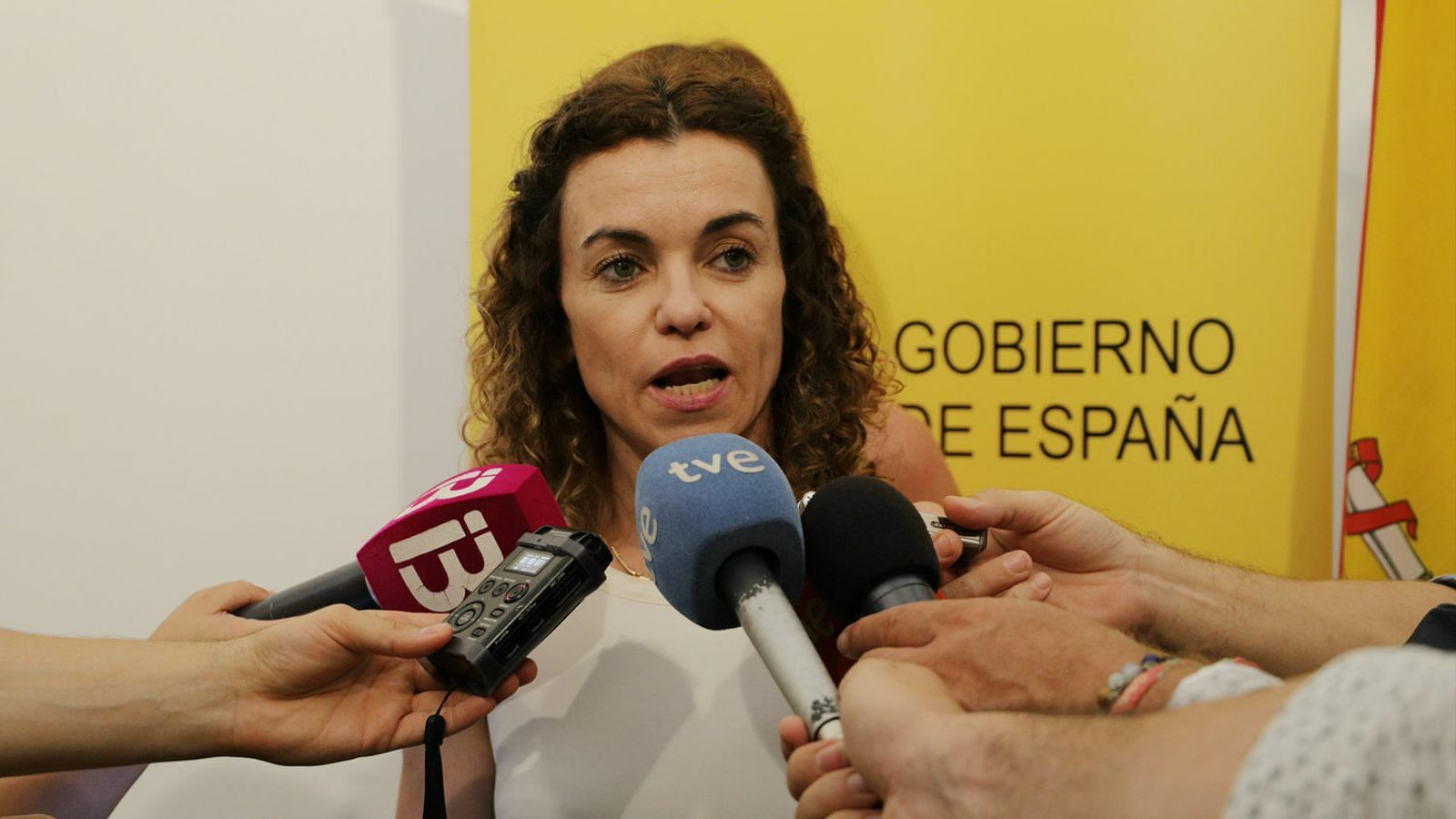La delegada del govern Rosario Sánchez