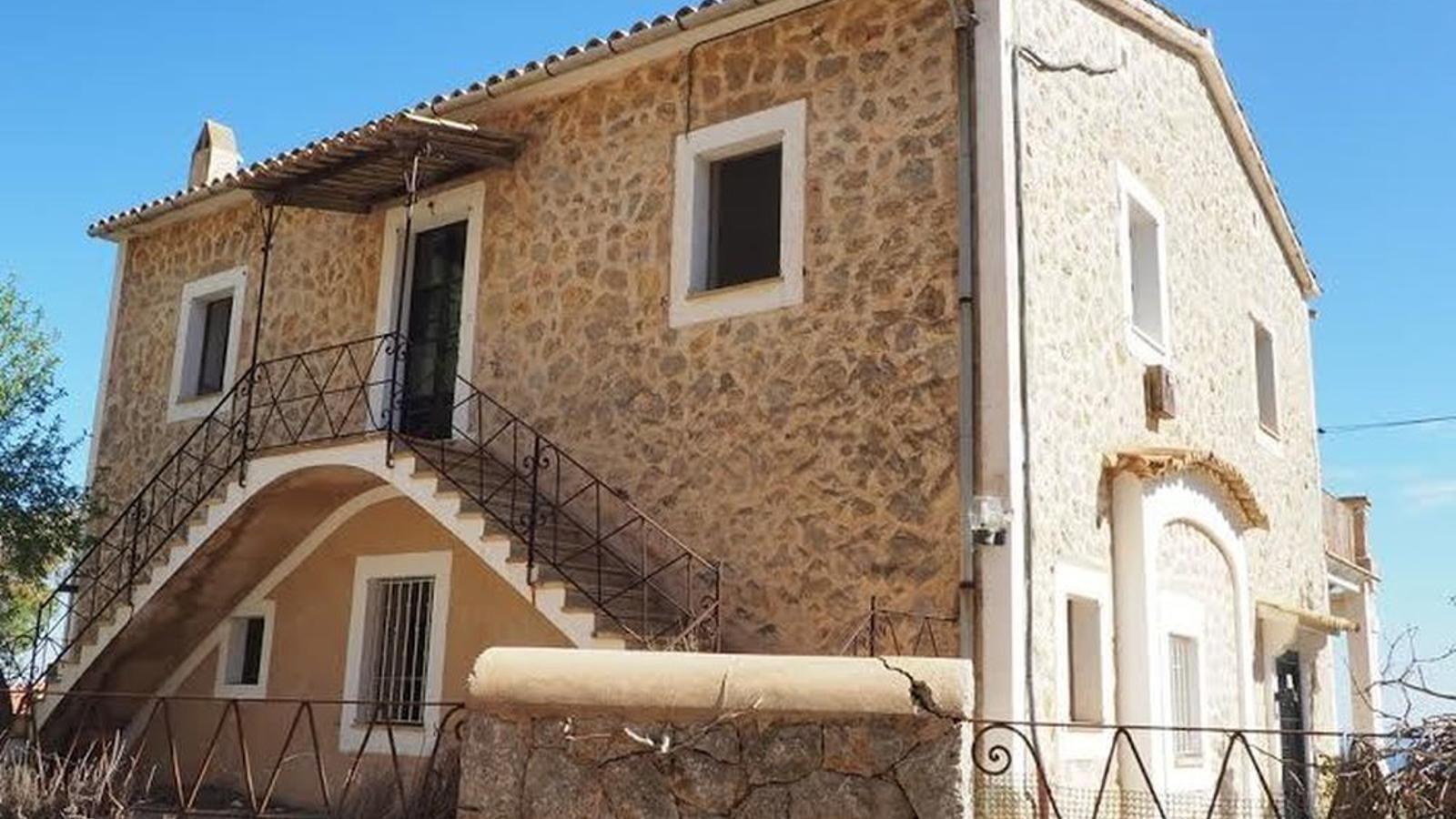 La cas de Gènova on hi va viure Manuel de Falla.