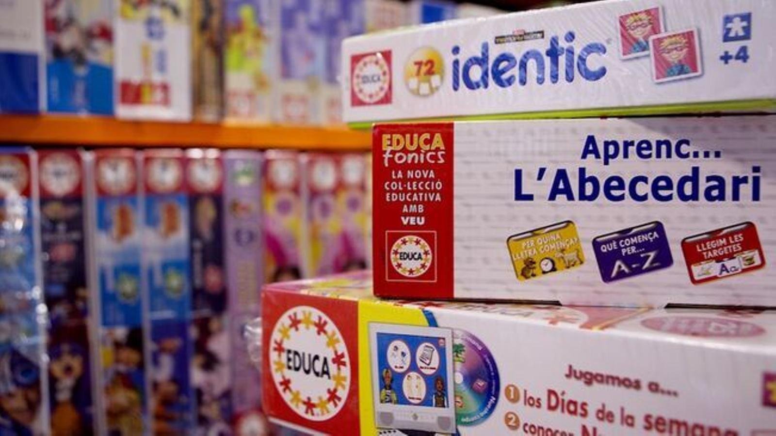 Les botigues de juguetes de Menorca dupliquen les vendes de puzles durant la pandèmia