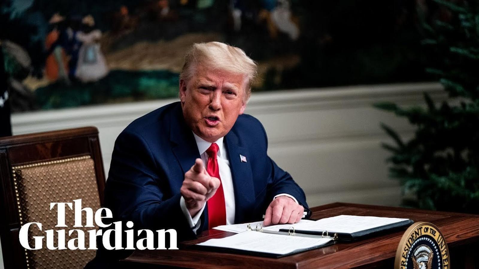 Trump declara que abandonarà la Casa Blanca si el col·legi electoral escull Biden