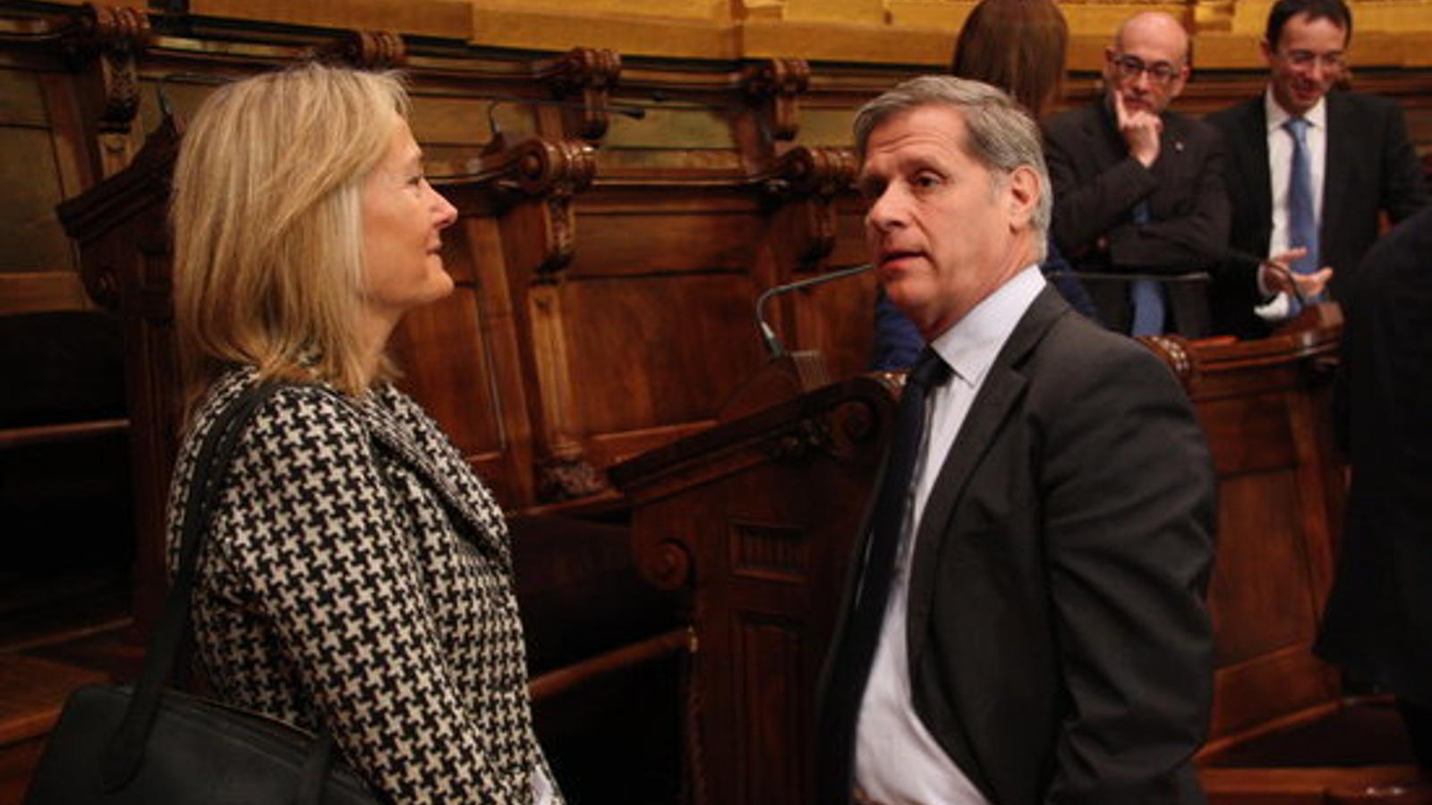 La regidora del PP a Barcelona Àngels Esteller substituirà Jorge Moragas com a diputada al Congrés