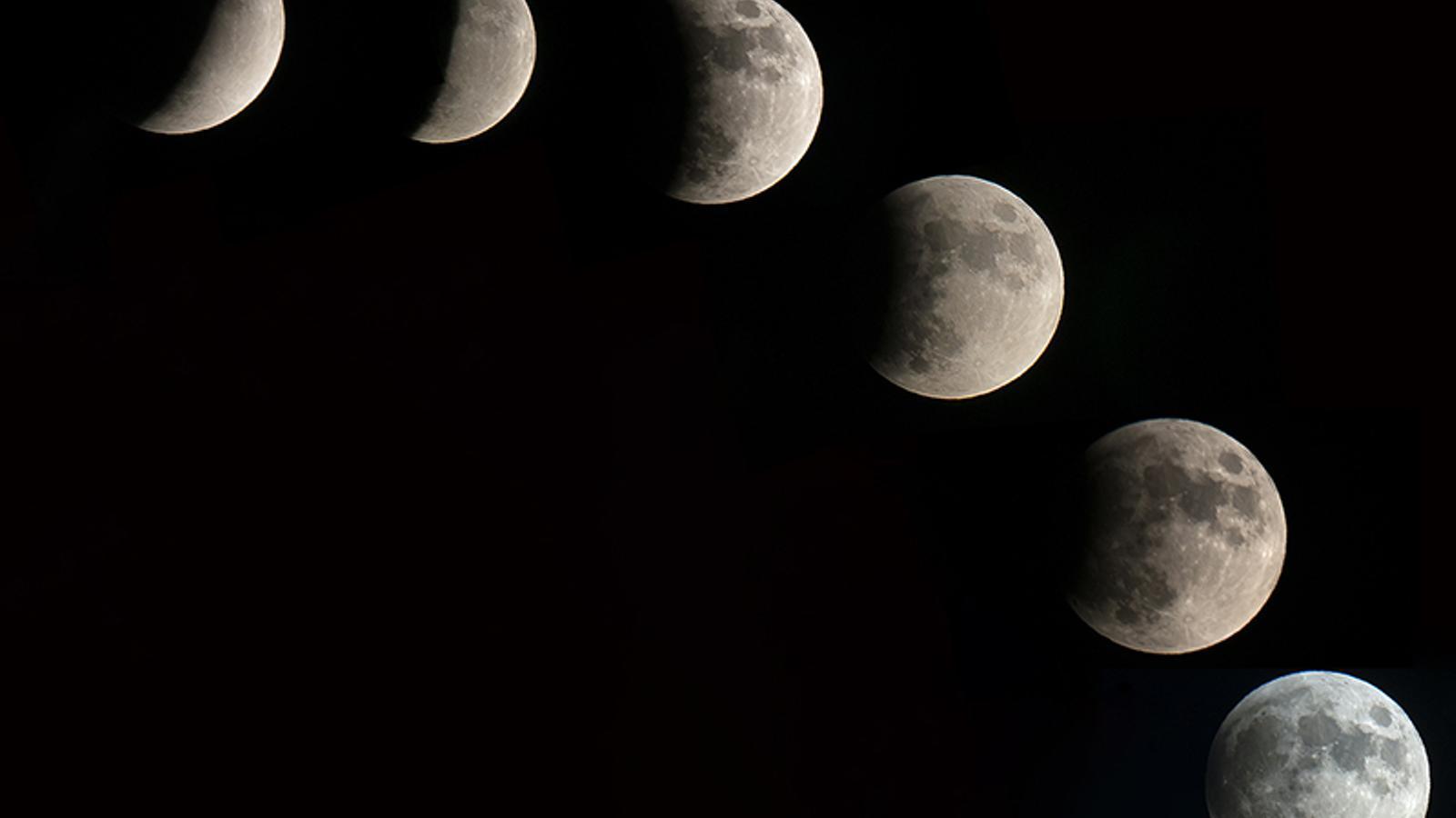 Les vostres fotos de l'eclipsi de lluna