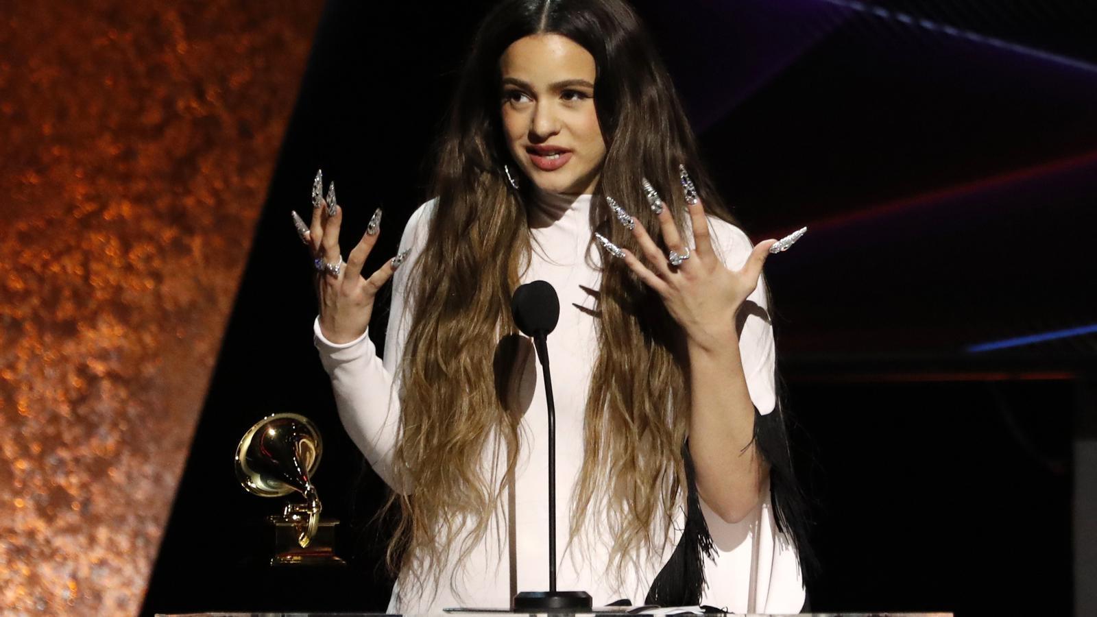 Rosalía als Grammy