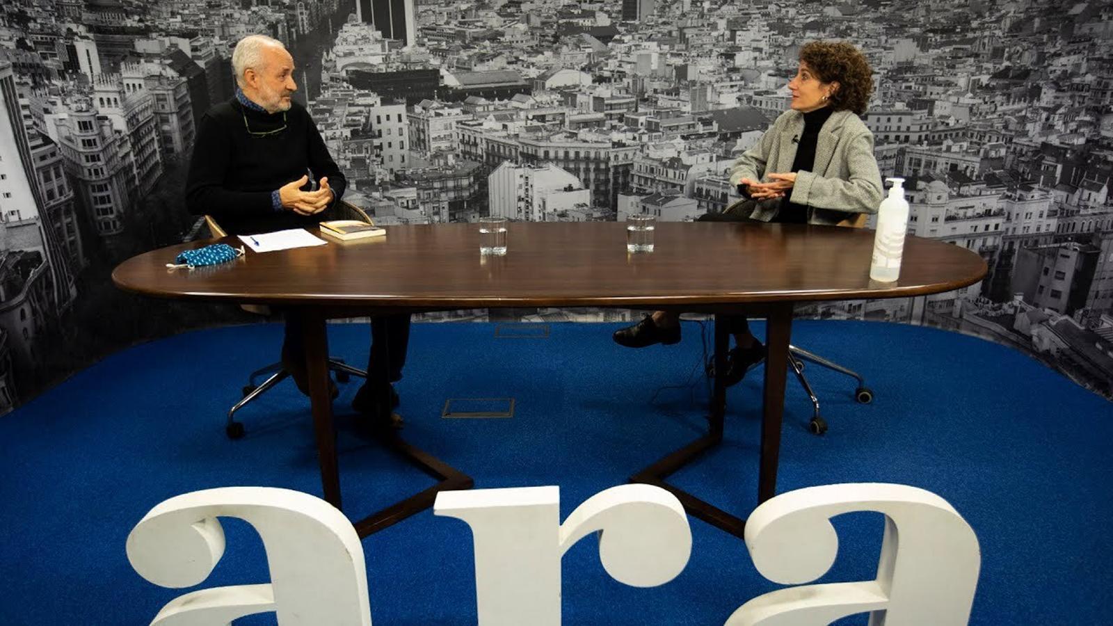Entrevista d'Ignasi Aragay a Marina Garcés