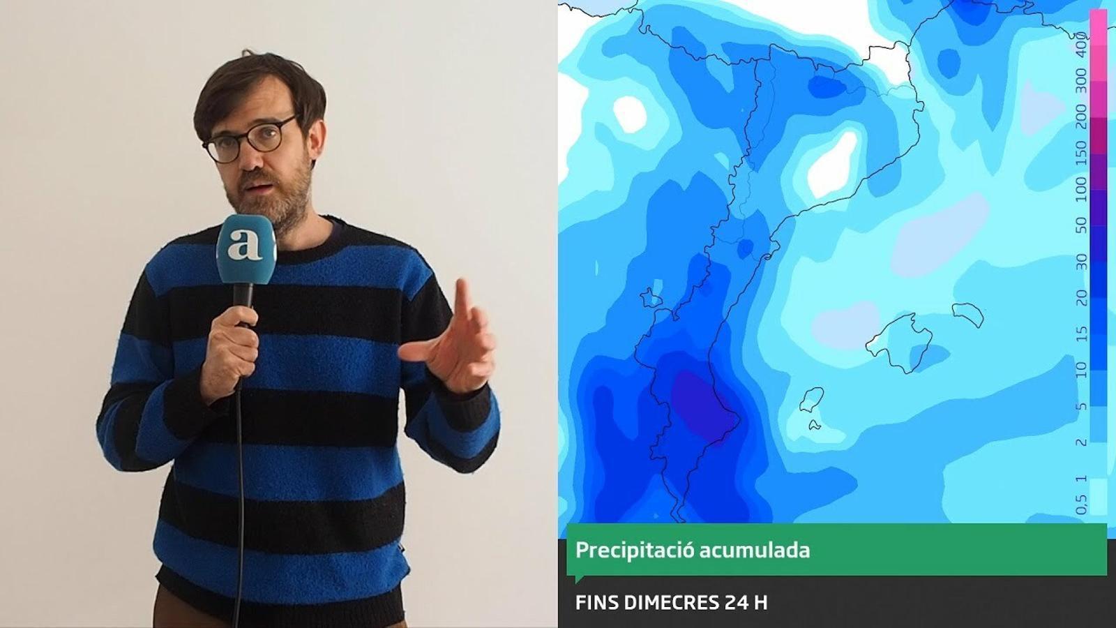 La méteo: fred hivernal i neu fins als 500 metres