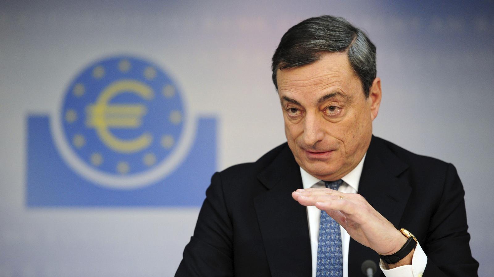 Draghi creu que l'economia europea és