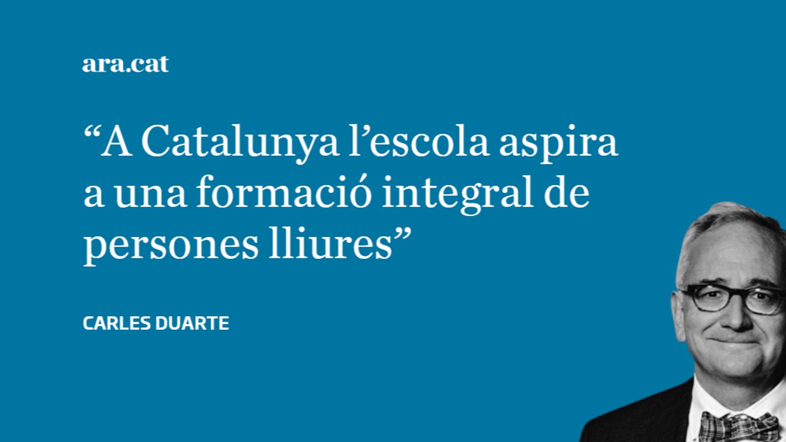 L'escola catalana: adoctrinar o pensar?