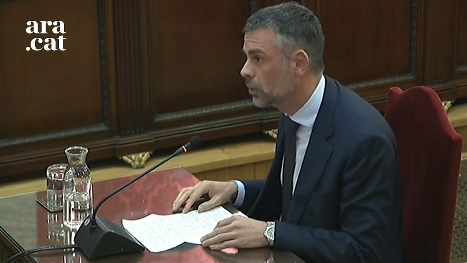 """Vila: """"""""No va ser ingenuïtat pensar que era possible el diàleg entre Catalunya i Espanya"""""""