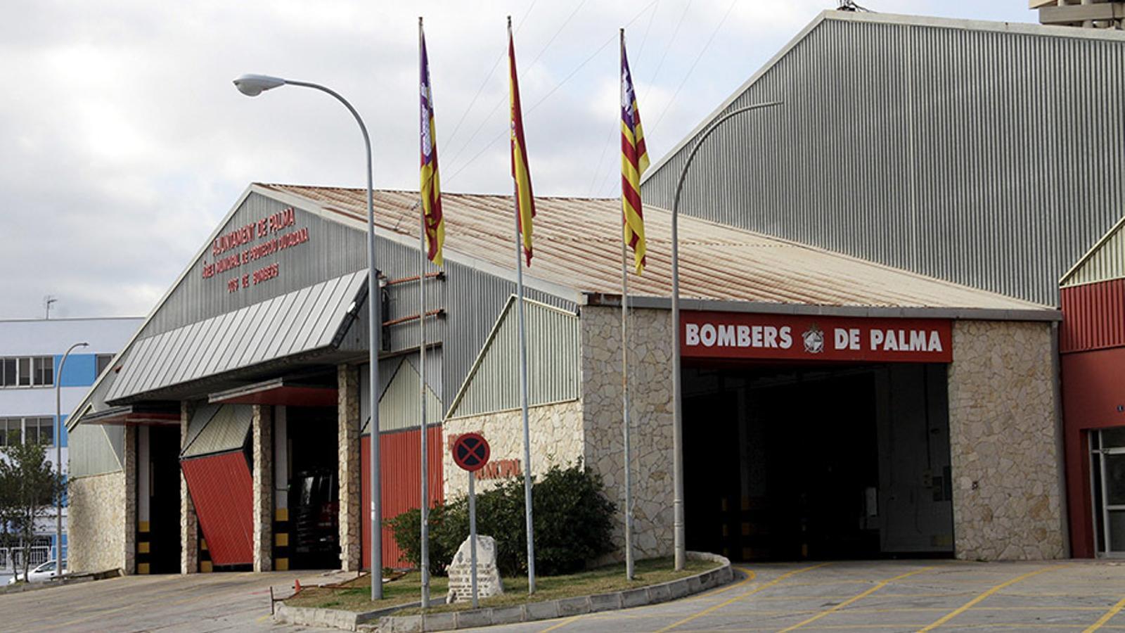 Imatge d'arxiu del parc de bombers de Palma