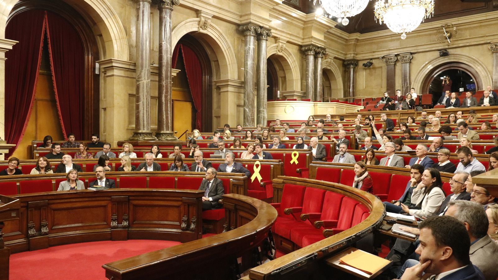 EN DIRECTE: El debat i votació de la resposta a la sentència del Parlament