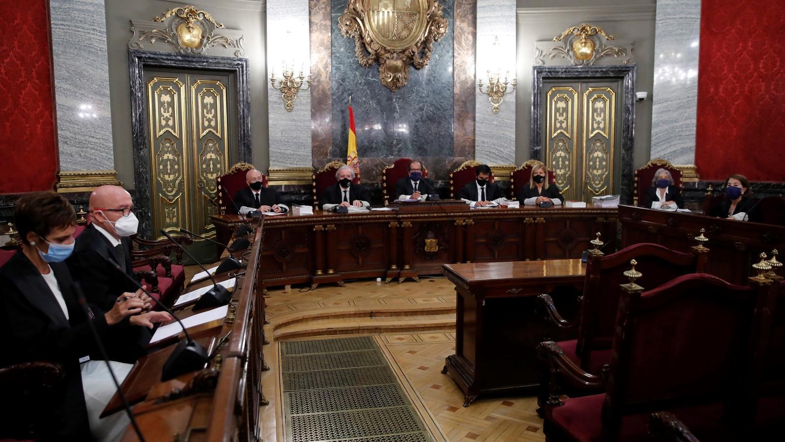 La defensa de Torra demana al Suprem que porti el cas a Europa abans de dictar sentència