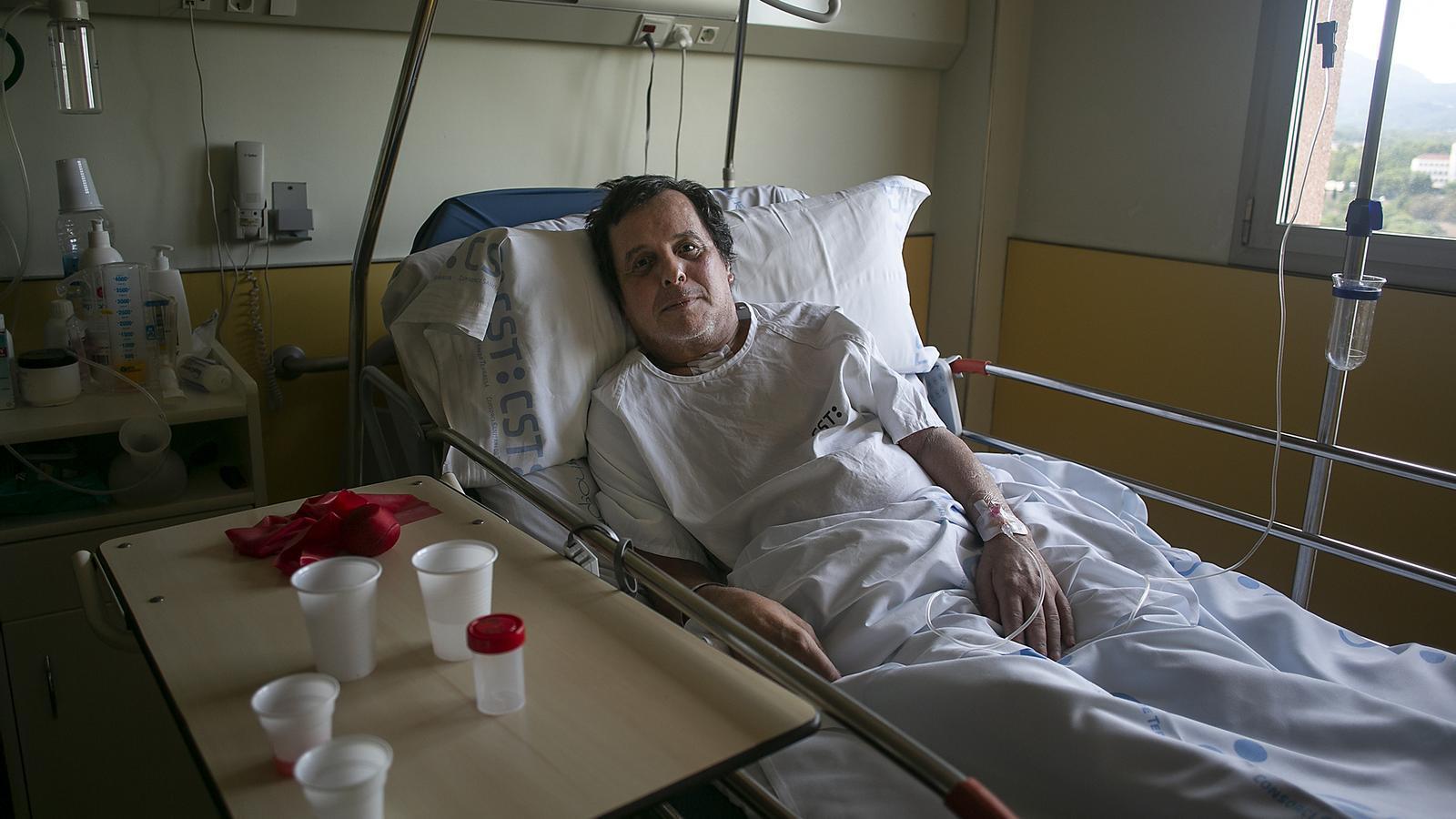 En Raül Romero ha passat 125 dies a l'UCI de l'hospital de Terrassa
