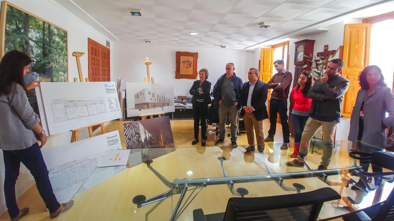 Presentació del projecte d'Amadip a l'Ajuntament