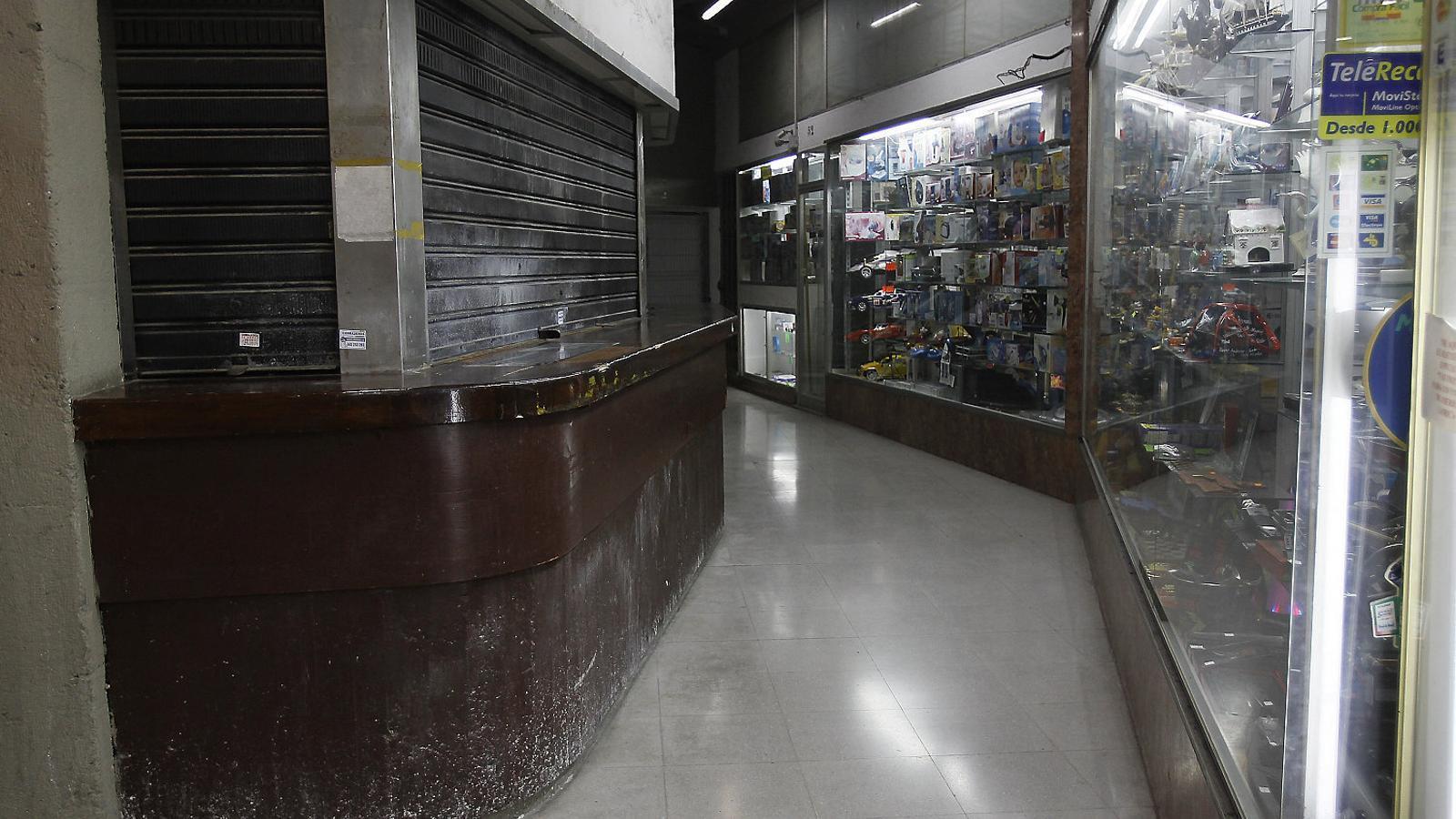 Foscor i incertesa a les galeries de la plaça Major de Palma
