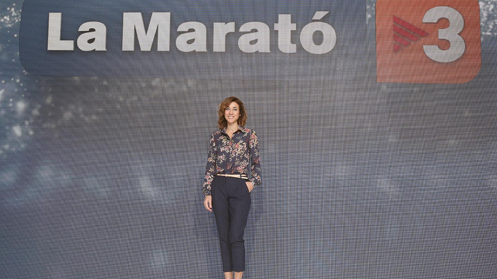 Helena Garcia Melero presenta la 26a edició de 'La Marató'