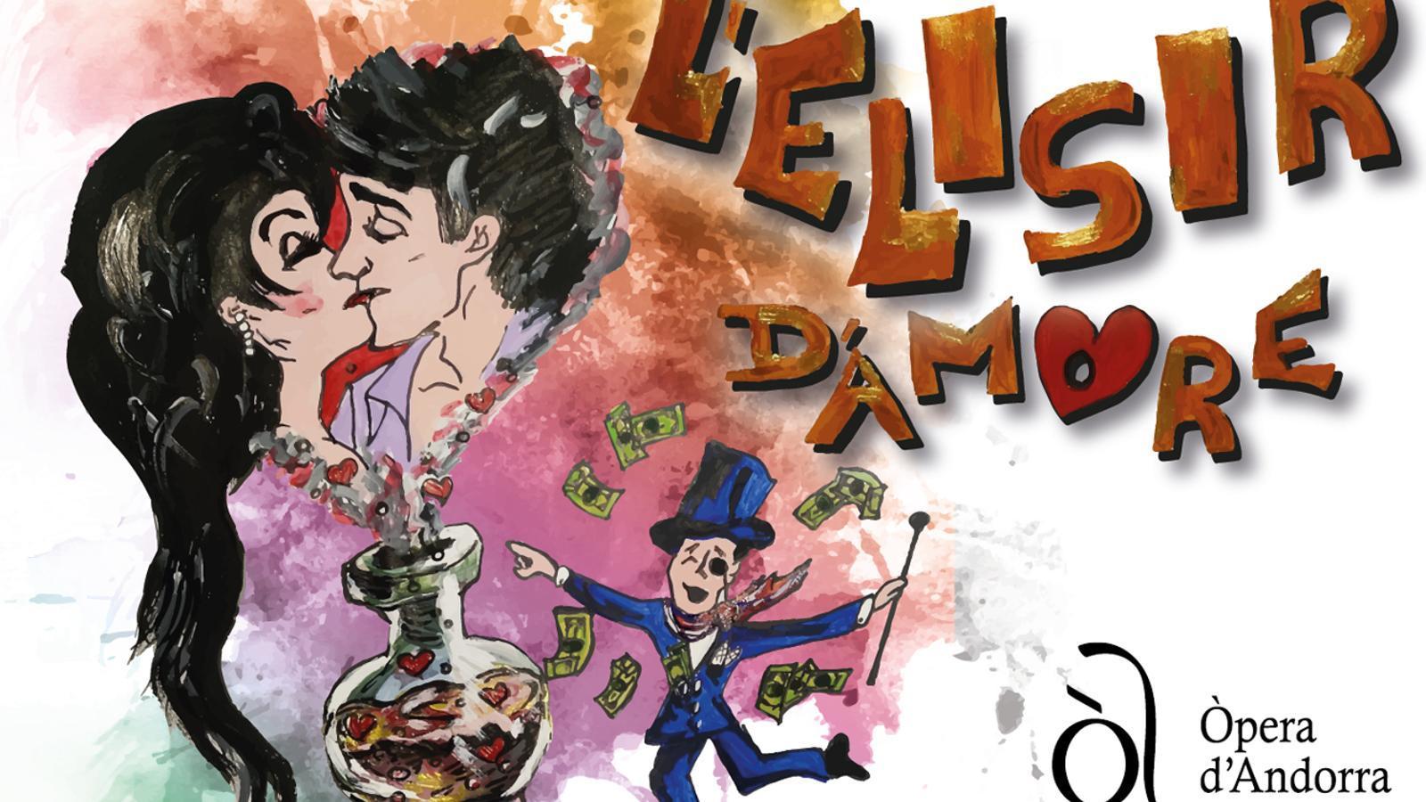 Imatge promocional de l'òpera 'L'elisir d'amore'. / ANDORRA LÍRICA