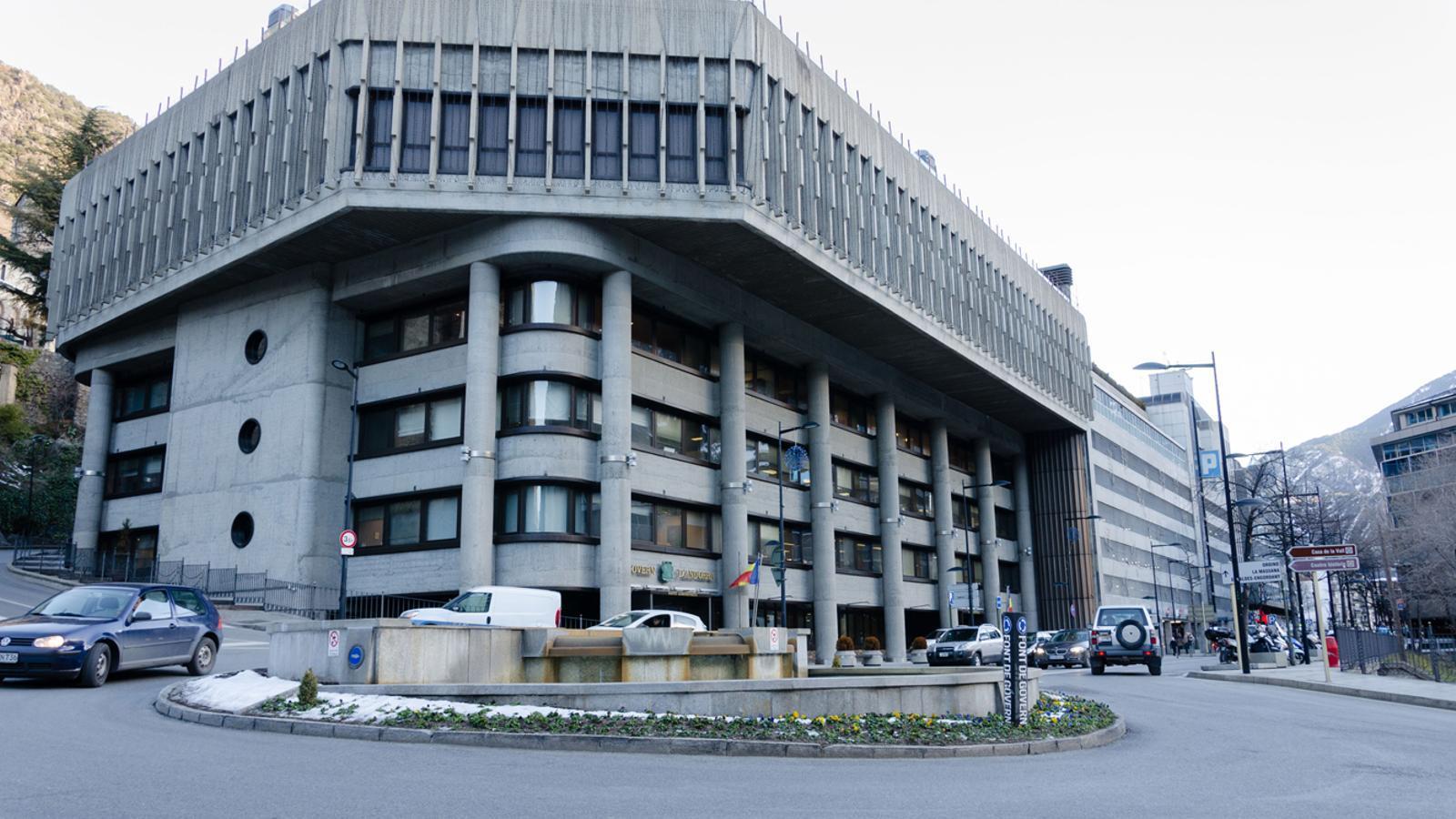 L'edifici central del Govern. / ARXIU ANA