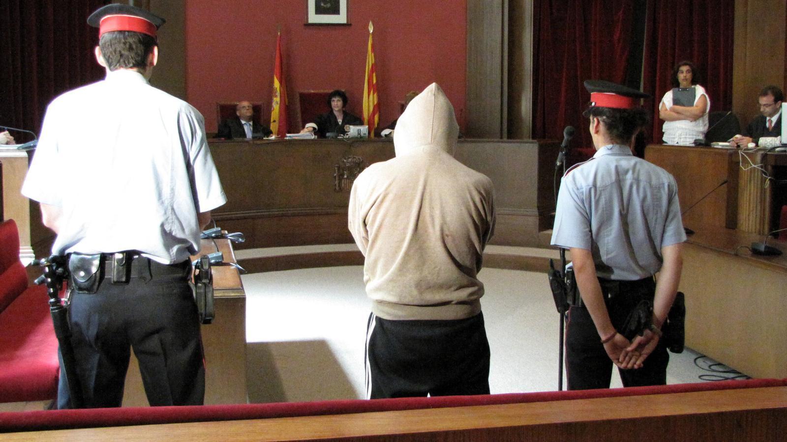 El segon violador de l'Eixample, en un judici de l'any 2010