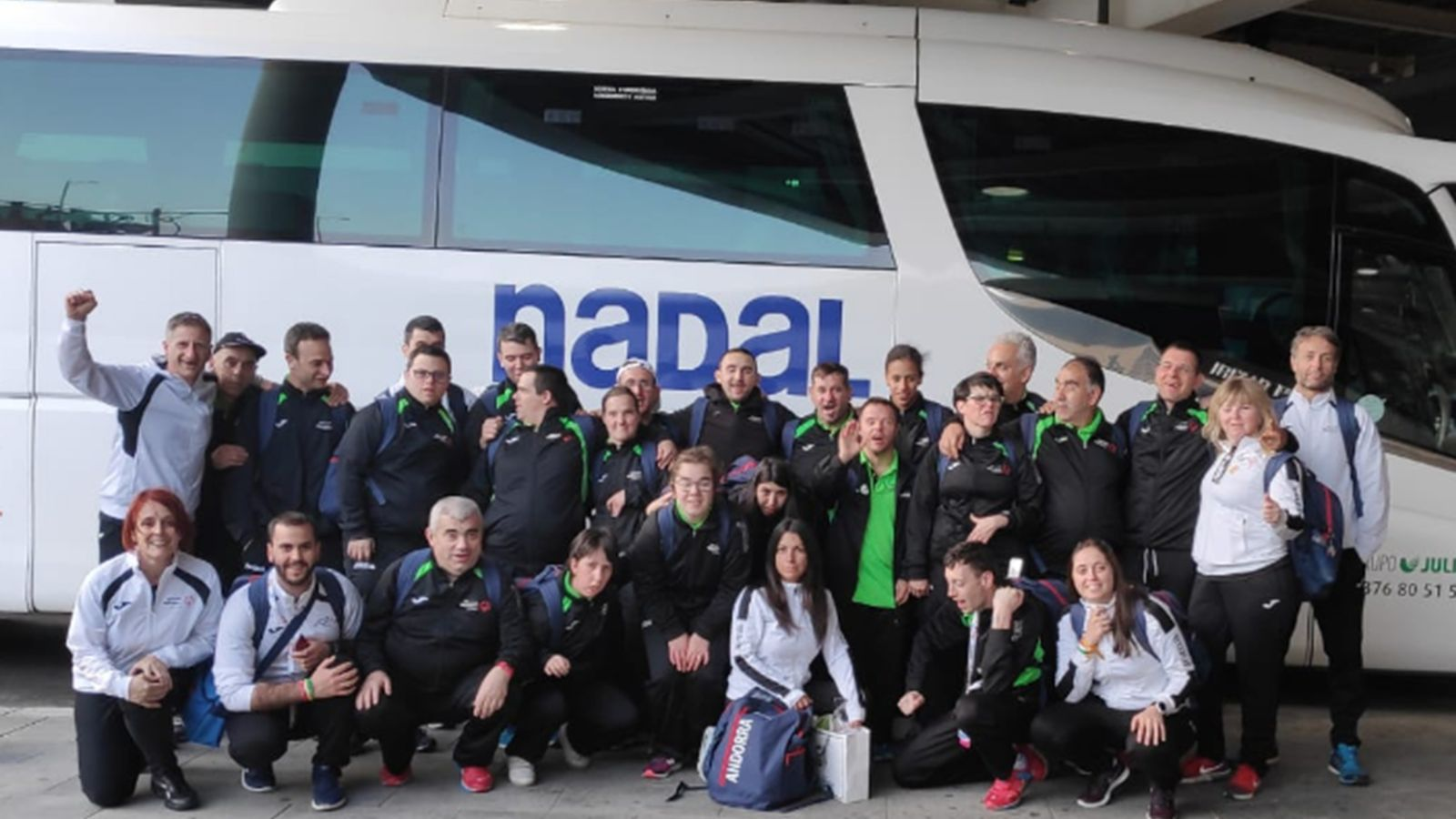 La delegació andorrana torna al Principat després dels Special Olympics. / S. O.