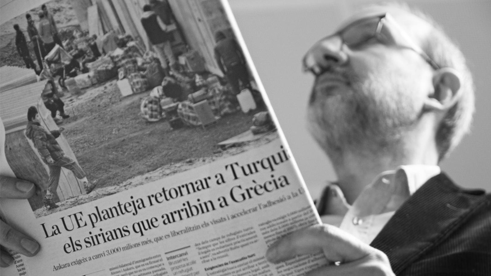 L'editorial d'Antoni Bassas: Europa... me la imaginava més gran