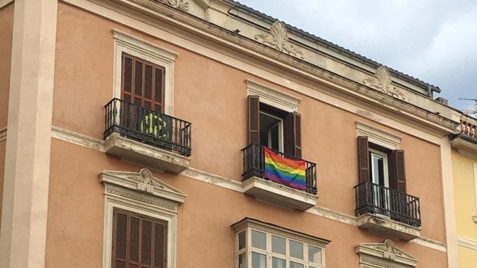 Vox considera que la bandera LGTBI no és neutral