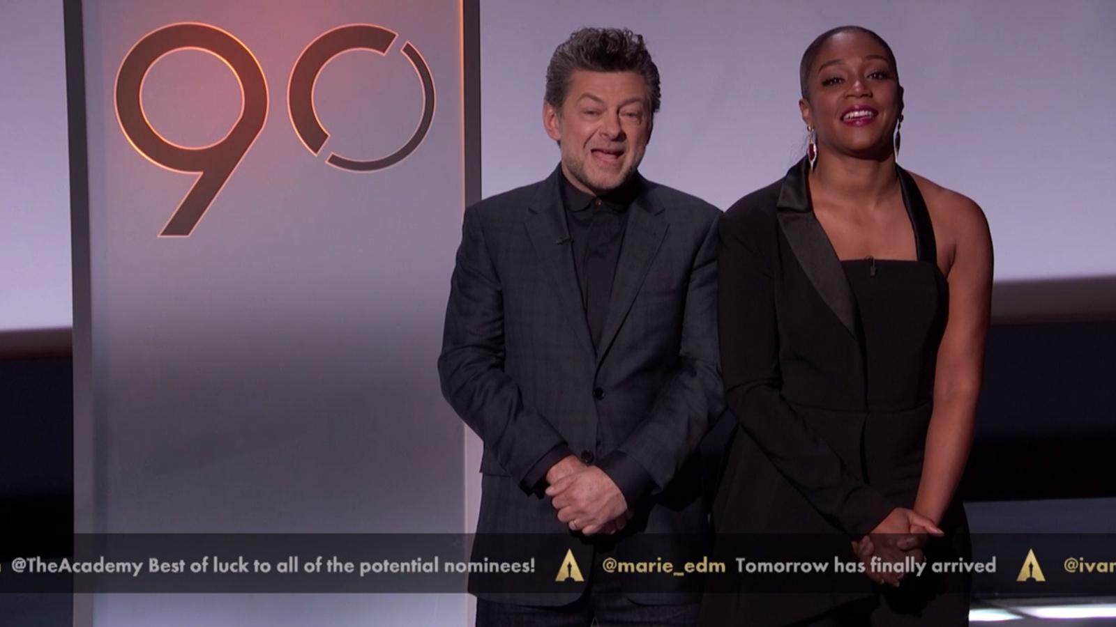 Segueix en directe l'anunci dels nominats als Oscars del 2018