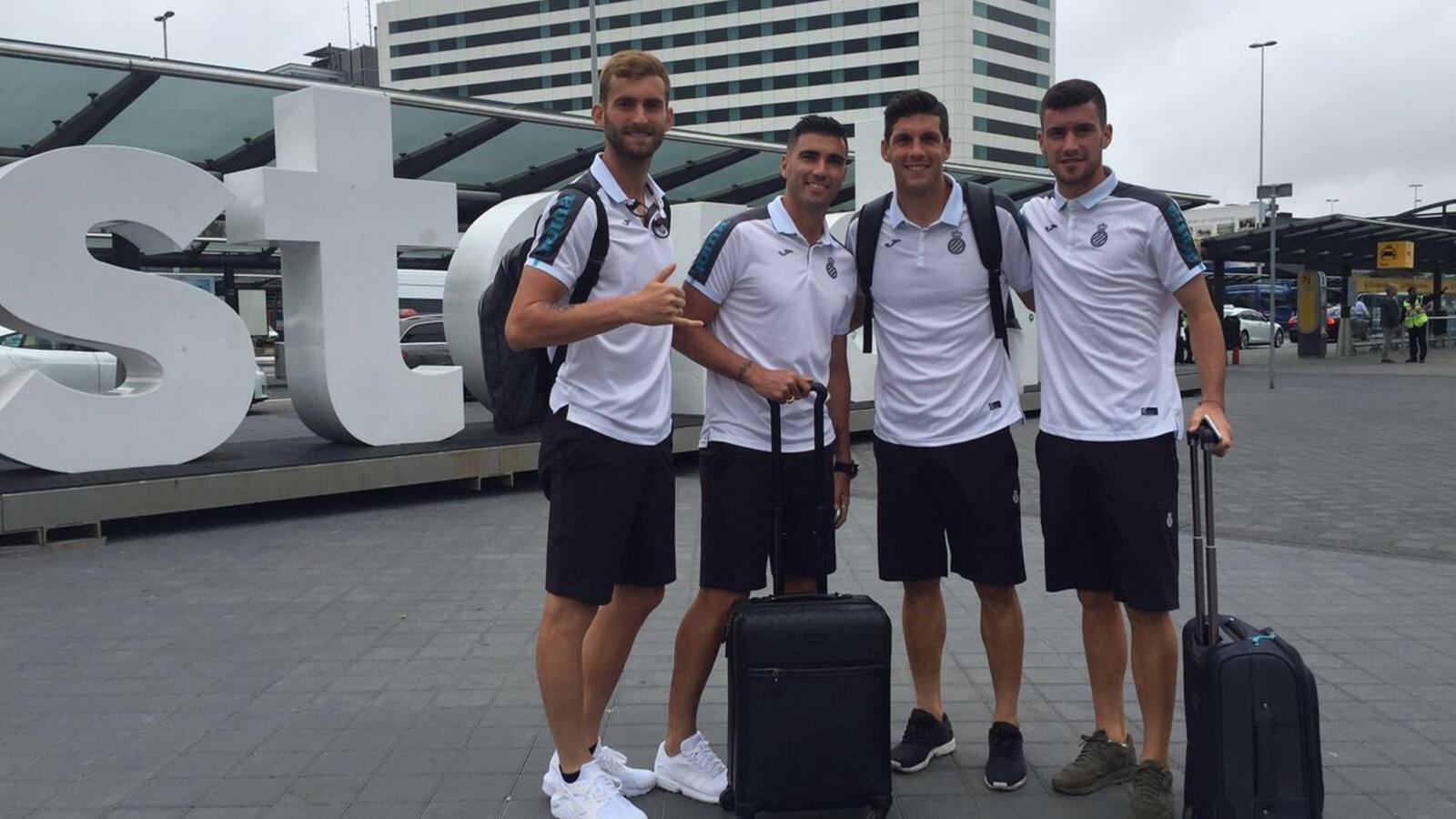 L'Espanyol ja és a Holanda per començar la primera gira estiuenca