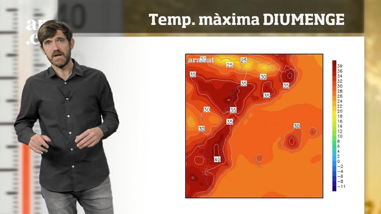 La méteo en 1 minut: cap de setmana de calor forta