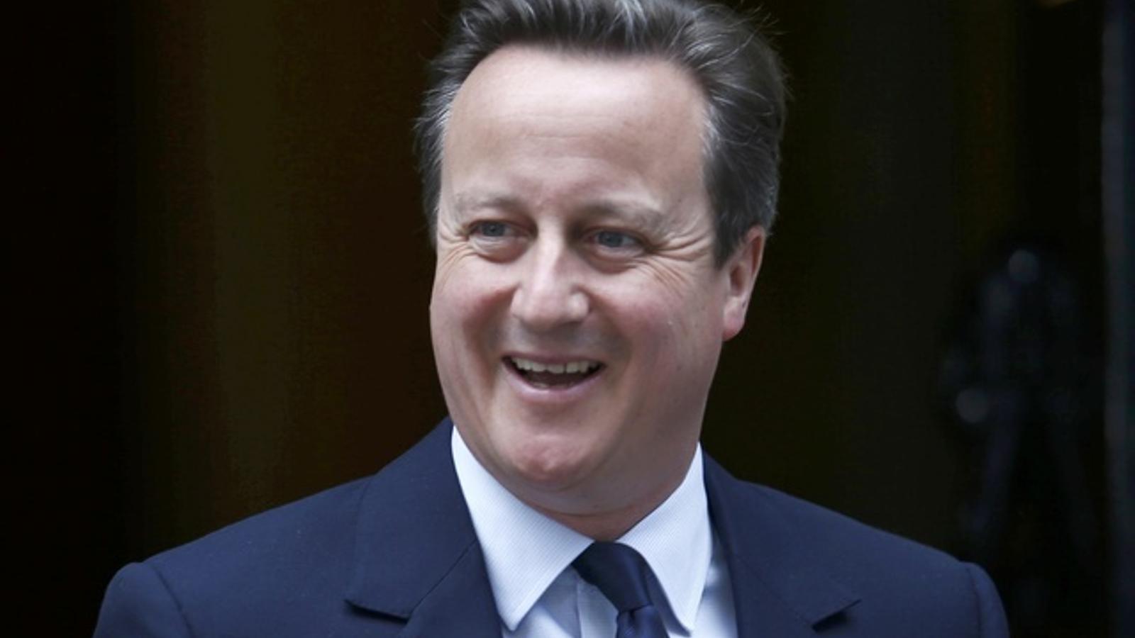 El primer ministre del Regne Unit, David Cameron.