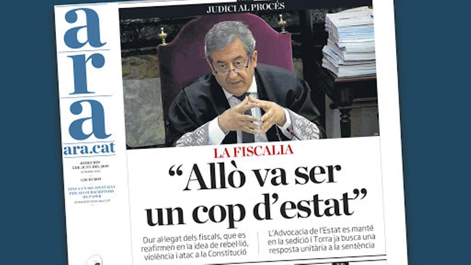L'anàlisi d'Antoni Bassas: 'La violència verbal de la Fiscalia'