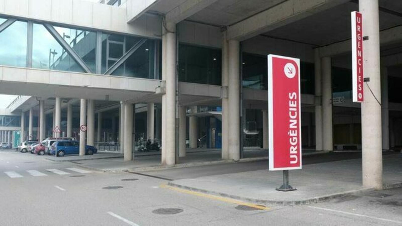 L'entrada d'urgències de l'hospital de Son Espases. / ISAAC BUJ