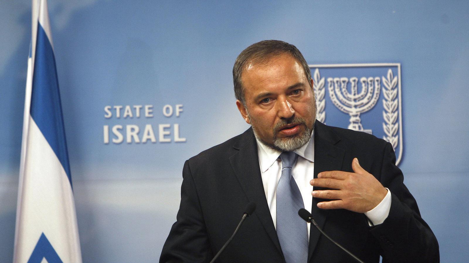 El ministre d'Exteriors d'Israel, Avigdor Lieberman