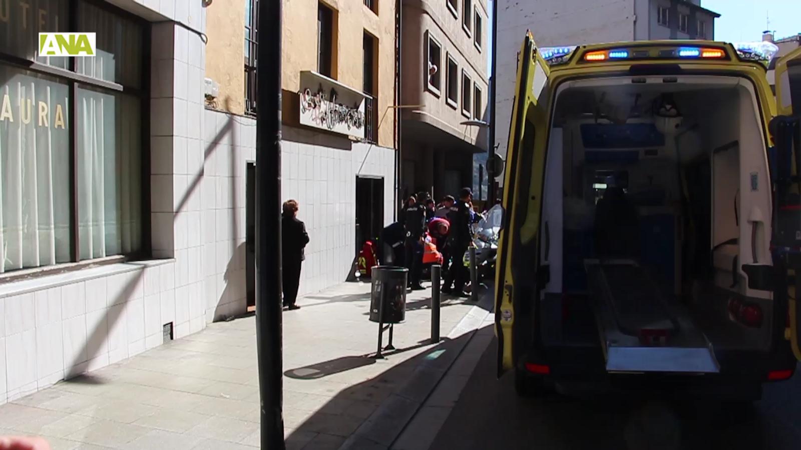 Vídeo de l'atropellament d'un home a l'avinguda Príncep Benlloch