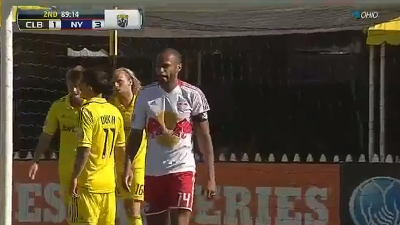 Els dos gols de Thierry Henry contra els Columbus Crew a la MSL