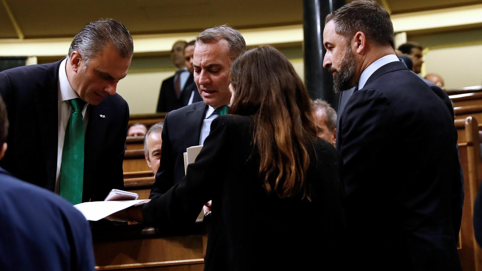 EN DIRECTE: Arrenca la nova legislatura al Congrés amb la incògnita de si Vox podrà entrar a la mesa
