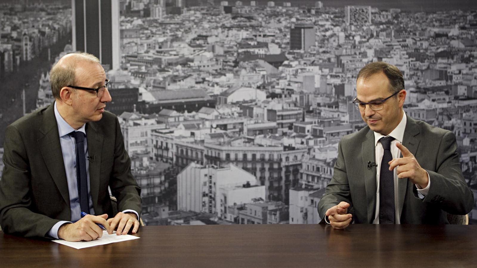 Entrevista d'Antoni Bassas a Jordi Turull: Les diferències són grans però no han de ser insalvables