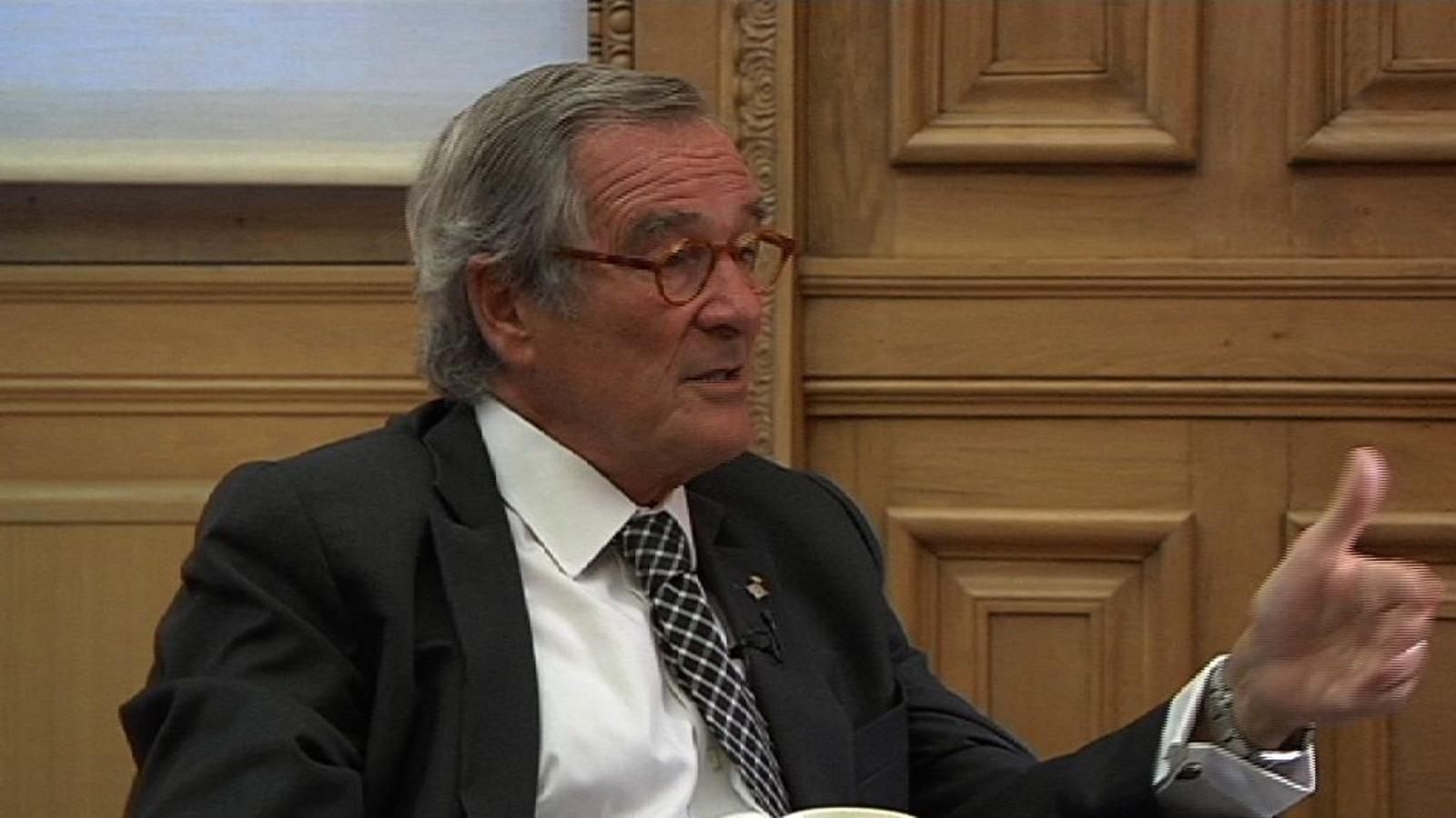 Xavier Trias: Sense Eurovegas, m'evito moltes discussions i molts problemes
