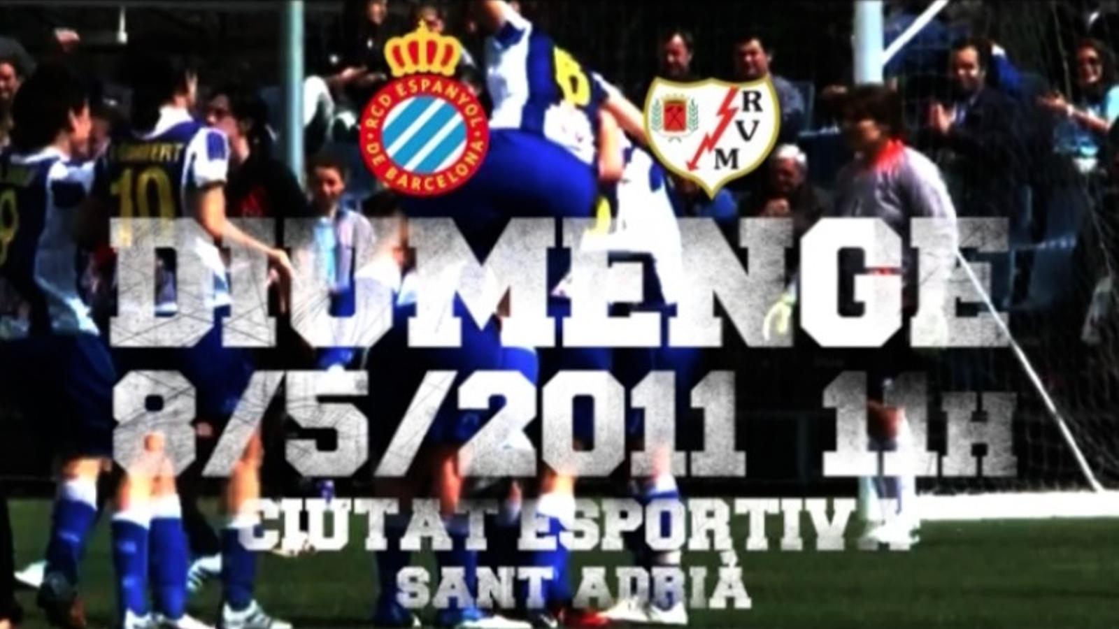 Vídeo promocional de l'Espanyol femení pel partit de tornada de la Superlliga