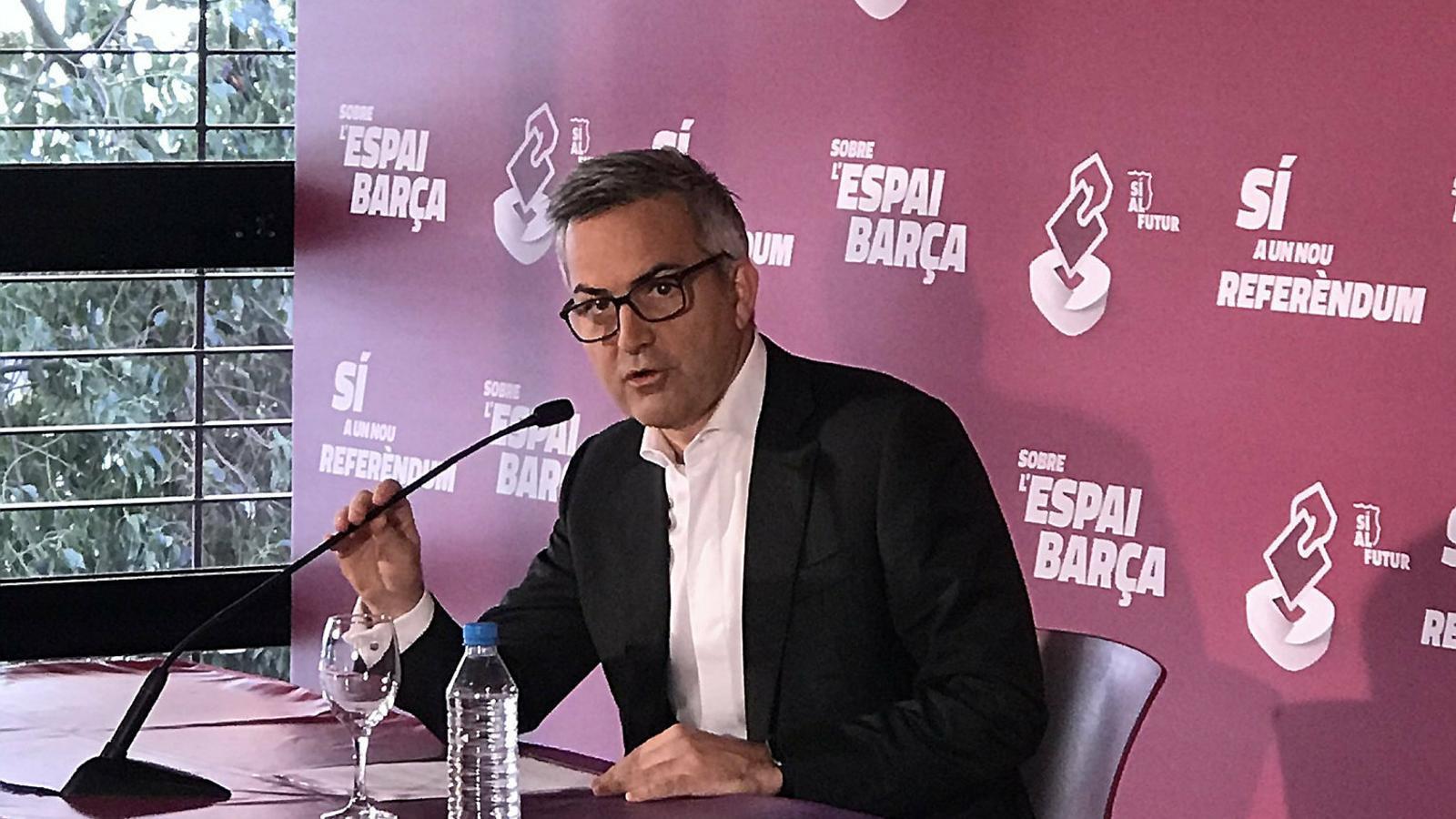 """Víctor Font: """"Xavi serà el pal de paller del Barça en el futur"""""""