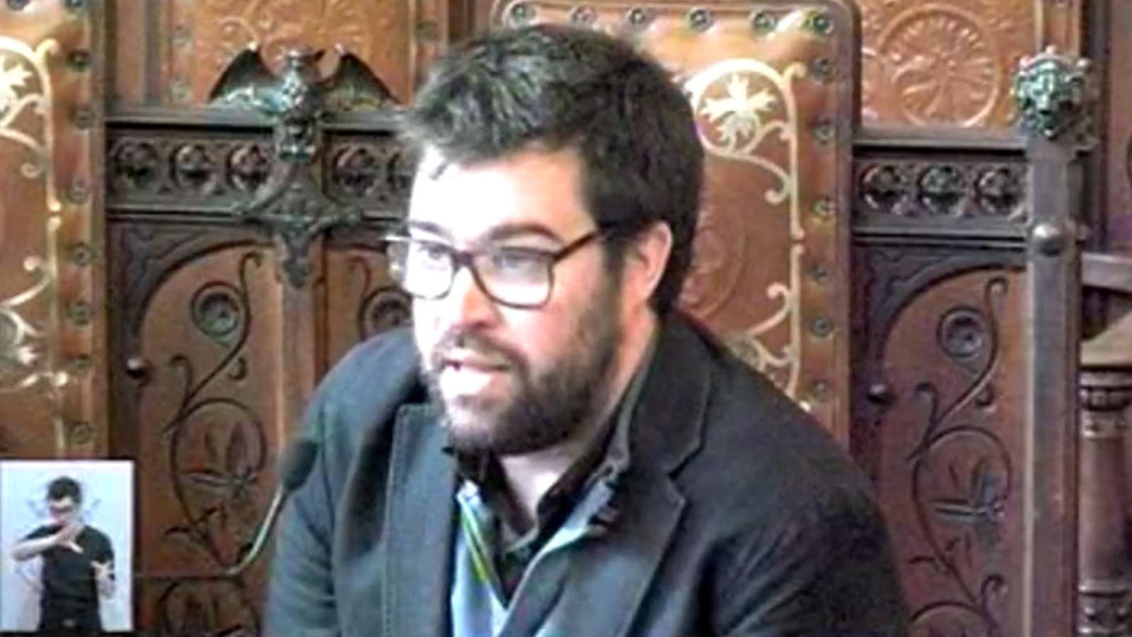 Debat sobre les ajudes en cooperació a l'Ajuntament de Palma