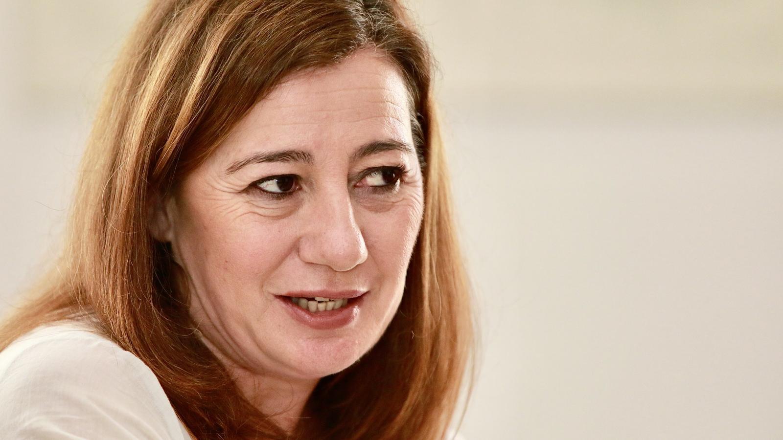 """Francina Armengol """"Si Alemanya fa tests immunològics, la població de les Illes els haurà de tenir"""""""
