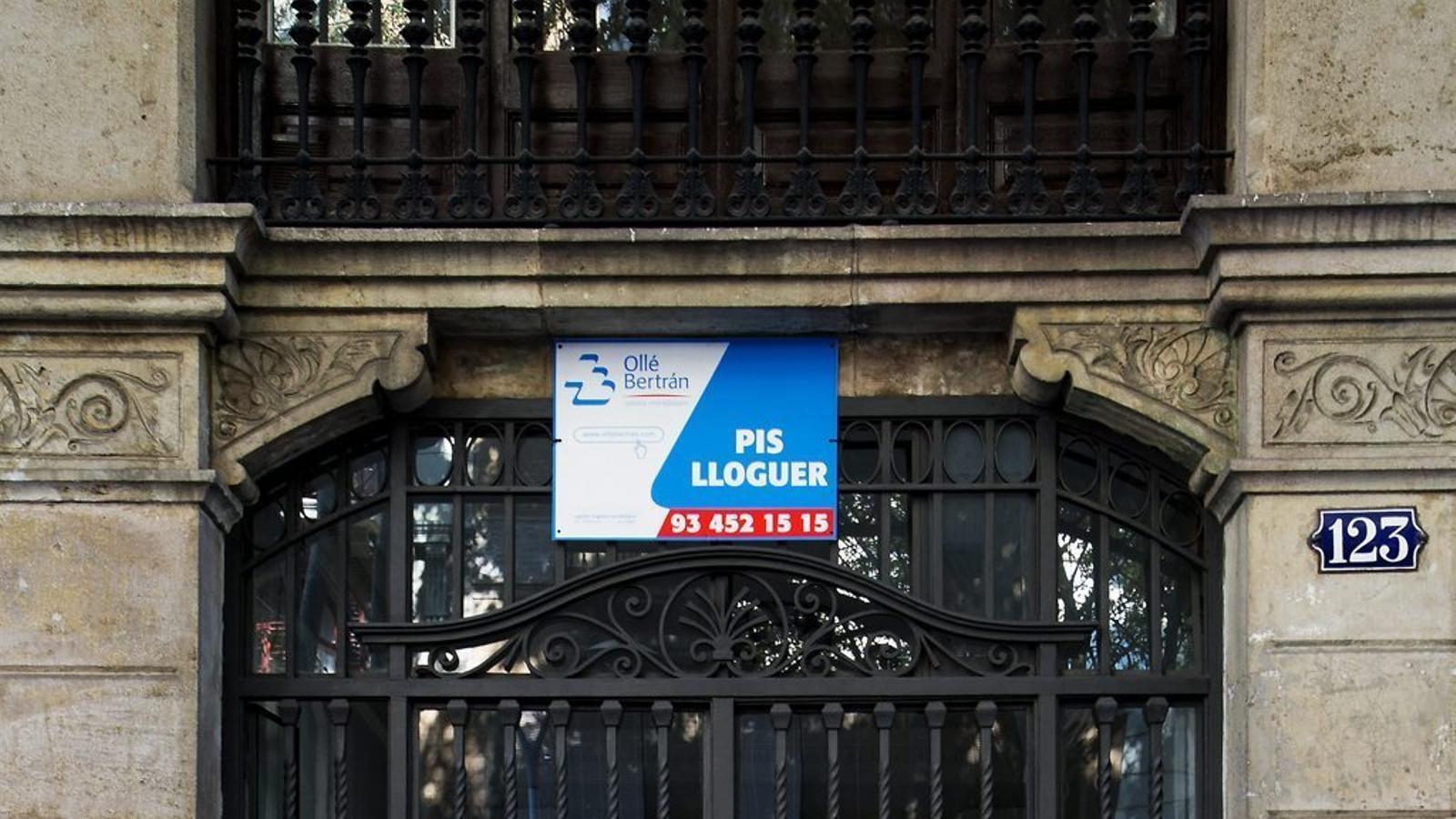 El Govern permetrà limitar el preu del lloguer en zones d'alta demanda